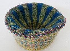 Felted bowl 2