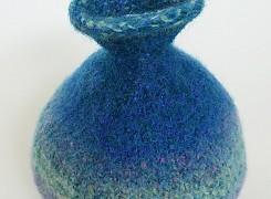 Felted vase 2